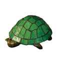 "Rustic Farmhouse Style Novelty Lamps And Accessories Meyda 10750 - 4""H Turtle Accent Lamp"