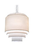 "Modern Cabin Style Ceiling Lights Meyda 109760 - 31""W Cilindro 5 Tier Pendant Light"