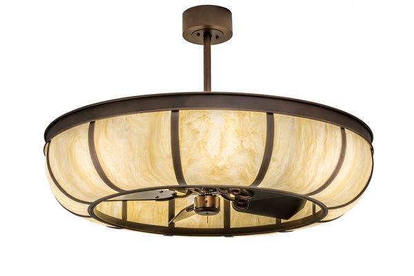 "Modern Cabin Ceiling Lights Meyda 110002 - 44""W Prime Dome Chandel-Air"