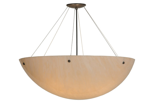 "Modern Lodge Style Ceiling Lights Meyda 111563 - 30""W Cypola Inverted Pendant Light"