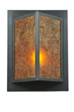 "Modern Country Wall Sconce Lighting Meyda 111710 - 11""W Wedge Wall Sconce"