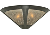 "Modern Rustic Style Wall Sconce Lighting Meyda 111882 - 22""W Van Erp Wall Sconce"