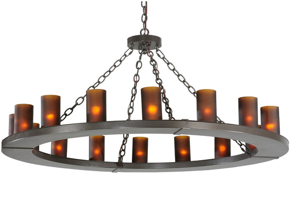 "Modern Country Style Ceiling Lights Meyda 112326 - 48""W Loxley 16 LT Chandelier"
