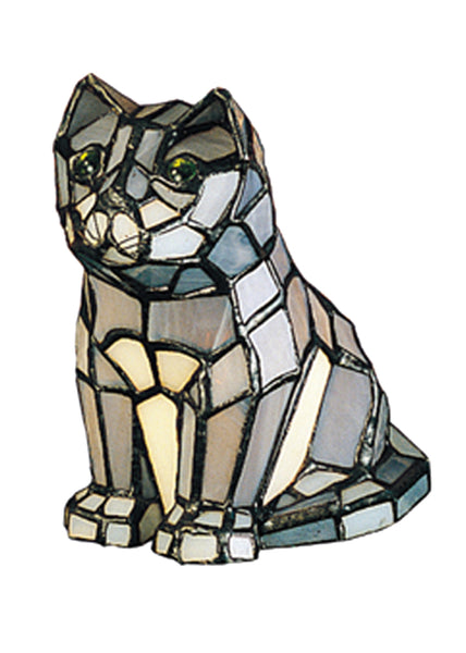 "Rustic Country Novelty Lamps And Accessories Meyda 11323 - 7""H Cat Accent Lamp"
