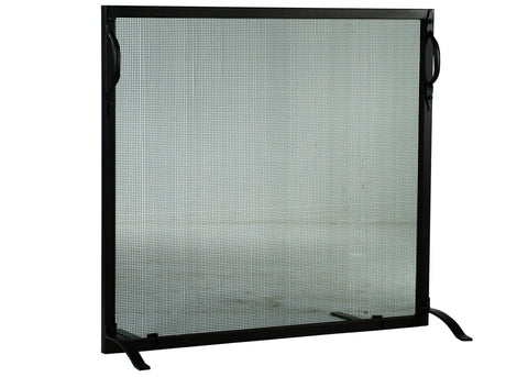 "Modern Cabin Fireplace Screens Meyda 113728 - 46.5""W X 44.5""H Prime Fireplace Screen"