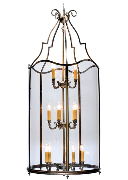 "Modern Farmhouse Style Ceiling Lights Meyda 113907 - 30""W Sanctuary Pendant Light"