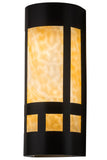 "Country Style Wall Sconce Lighting Meyda 114090 - 7""W Van Erp Mission Wall Sconce"
