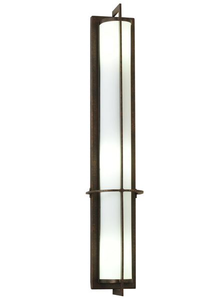 "Cabin Wall Sconce Lighting Meyda 115277 - 7""W Cilindro Kenzo Wall Sconce"