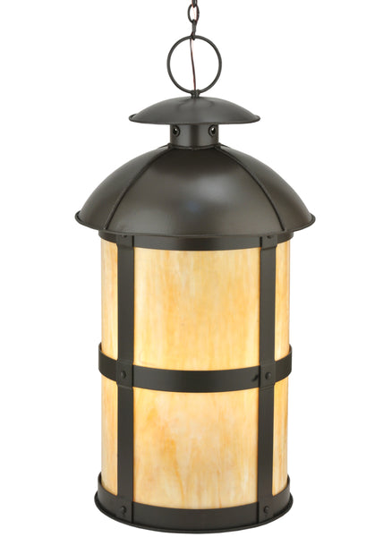 "Modern Farmhouse Style Ceiling Lights Meyda 115383 - 22""W Altamire Hanging Lantern Pendant Light"