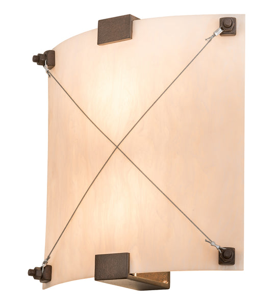 "Farmhouse Style Wall Sconce Lighting Meyda 115590 - 12""W Maxton Wall Sconce"