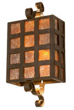 "Modern Cabin Wall Sconce Lighting Meyda 116008 - 10""W Monte Cristo Wall Sconce"