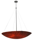 "Farmhouse Ceiling Lights Meyda 117715 - 48""W Cypola Inverted Pendant Light"