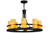 "Lodge Style Ceiling Lights Meyda 120449 - 32""W Arion Pendant Light"