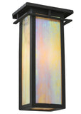 "Modern Cabin Wall Sconce Lighting Meyda 121431 - 6""W Portico Mission Wall Sconce"