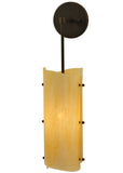 "Cabin Style Wall Sconce Lighting Meyda 125782 - 6""W Vortex Wall Sconce"