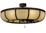 "Farmhouse Style Ceiling Lights Meyda 127988 - 44.25""W Prime Dome Chandel-Air"