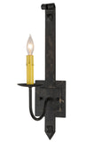 "Lodge Style Wall Sconce Lighting Meyda 130024 - 5""W Primitive Wall Sconce"