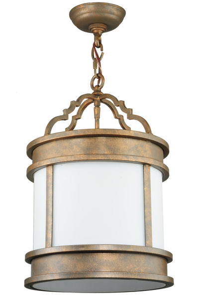 "Modern Farmhouse Style Ceiling Lights Meyda 130799 - 12""W Wyant Pendant Light"