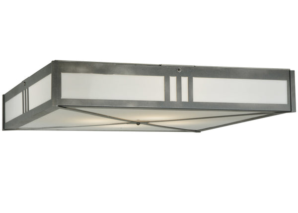 "Lodge Style Ceiling Lights Meyda 135132 - 36.25""Sq Whitewing Flushmount Light"