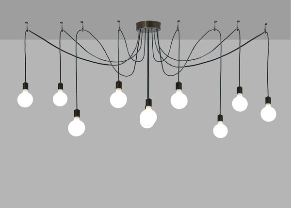 "Modern Farmhouse Ceiling Lights Meyda 136207 - 120""W Castiliolite 10 LT Pendant Light"