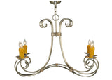 "Rustic Country Style Ceiling Lights Meyda 137245 - 34.5""W Elon 6 LT Chandelier"