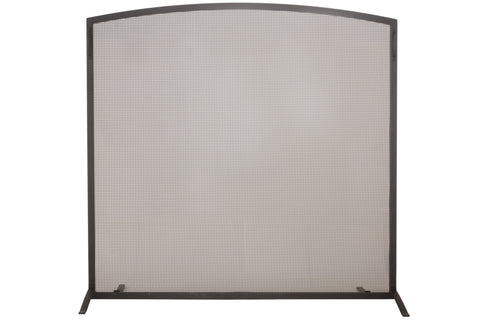 "Farmhouse Style Fireplace Screens Meyda 159676 - 47.5""W X 45.5""H Prime Arched Fireplace Screen"