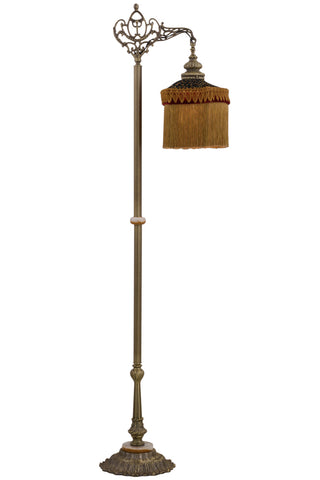 "Modern Lodge Floor Lamps Meyda 159855 - 72""H Victorian Bridge Arm Floor Lamp"