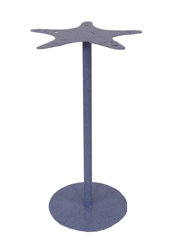 Modern Cabin Style Accent Table - Periwinkle Star Fish Drink Table