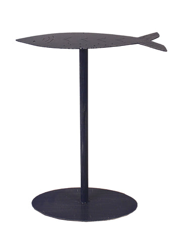 Modern Rustic Accent Table - Morning Jewel Fish Drink Table