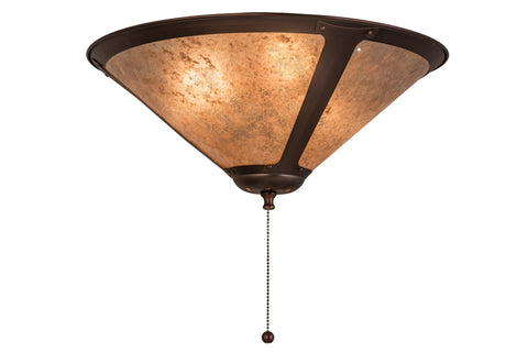 "Rustic Farmhouse Ceiling Lights Meyda 162339 - 17""W Van Erp Flushmount Light"