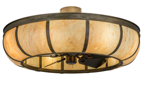 "Modern Country Ceiling Lights Meyda 170641 - 44""W Prime Dome Chandel-Air"