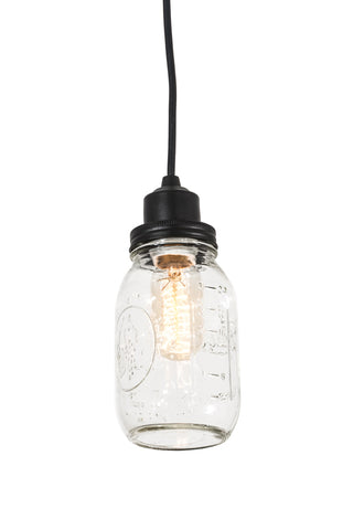 "Cabin Style Ceiling Lights Meyda 176579 - 3.75"" Mason Jar Pendant Light"