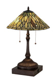 "Modern Rustic Table Lamps Meyda 177068 - 24""H Dew Drop Jadestone Table Lamp"