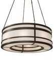 "Rustic Ceiling Lights Meyda 177250 - 72""W Sargent Pendant Light"