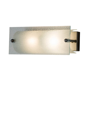"Rustic Cabin Wall Sconce Lighting Meyda 179700 - 16""W Quadrato Vanity"