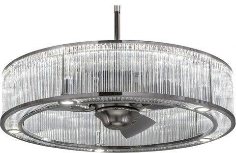 "Modern Cabin Style Ceiling Lights Meyda 182431 - 36""W Marquee Chandel-Air"