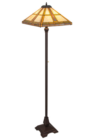 "Modern Farmhouse Floor Lamps Meyda 185696 - 62""H Prairie Straw Floor Lamp"