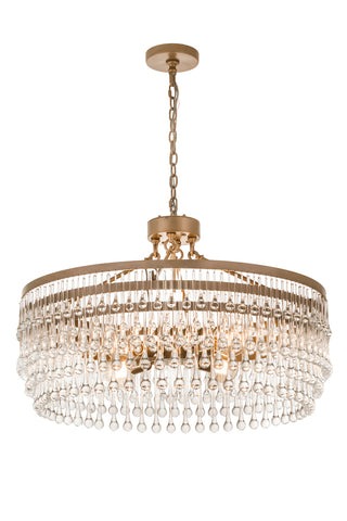 "Modern Country Ceiling Lights Meyda 187821 - 35""W Corsica Chandelier"