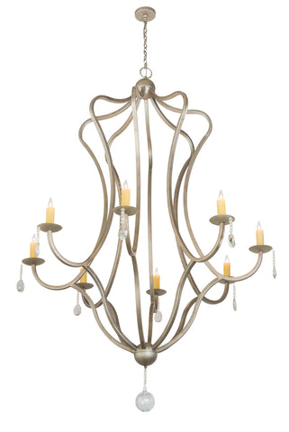 "Farmhouse Style Ceiling Lights Meyda 188414 - 68""W Lumierre Chandelier"