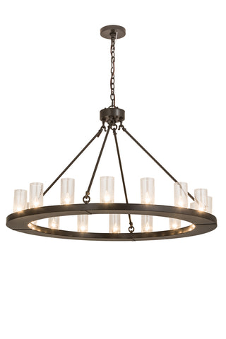 "Farmhouse Ceiling Lights Meyda 188650 - 48""W Loxley 16 LT Chandelier"