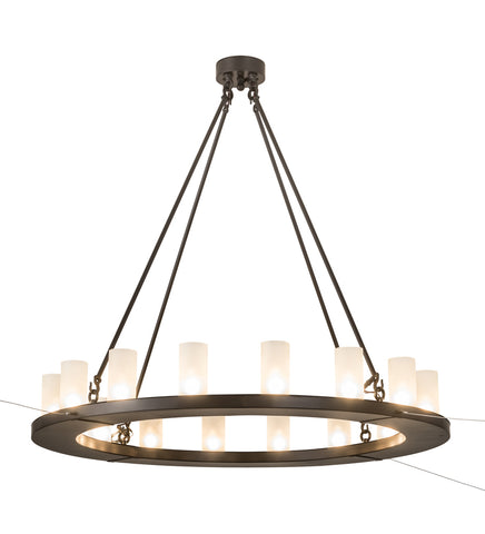 "Modern Farmhouse Style Ceiling Lights Meyda 189843 - 48""W Loxley 16 LT Chandelier"
