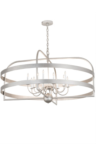 "Modern Lodge Ceiling Lights Meyda 192243 - 48""W Aldari 12 LT Chandelier"