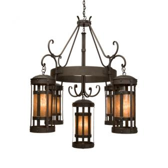 Modern Country Lighting - Steel Partners Lighting 2027 - Farmhouse Chandelier - Duomo