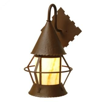 Rustic Lodge Style Lighting Fixtures - Steel Partners Lighting 2138-WET - Indoor / Outdoor Sconce - Gig Harbor