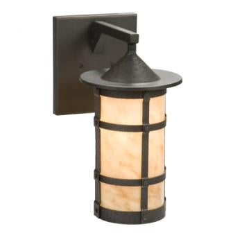 Rustic Farmhouse Light Fixture - Steel Partners Lighting 2161-71-Wet-XL - Indoor / Outdoor Sconce - Pasadena - San Carlos - XL