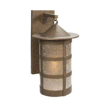 Rustic Lodge Light Fixture - Steel Partners Lighting 2161-71-XL - Hanging Sconce - Pasadena - San Carlos - X-Large