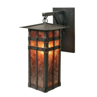 Rustic Cabin Style Light Fixture - Steel Partners Lighting 2171 - Hanging Sconce - San Carlos