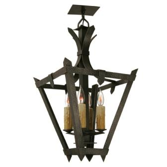 Modern Lodge Style Light Fixtures - Steel Partners Lighting 2179-P - Pendant - Tuscany