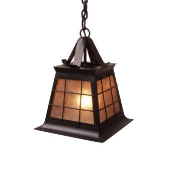 Rustic Lodge Style Light Fixtures - Steel Partners Lighting 2181-P-Sm - Pendant - Topridge - Small