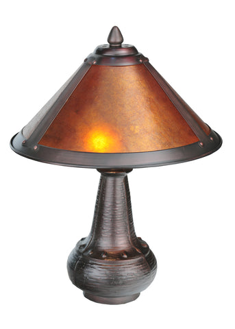 "Farmhouse Table Lamps Meyda 22619 - 14""H Van Erp Accent Lamp"